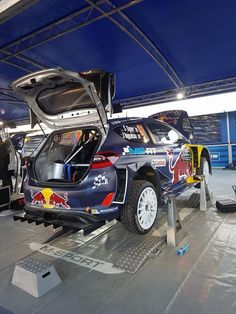 Photo Parc Assistance Rallye Monte-Carlo 2017