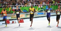 Usain Bolt strides into history with third straight 200-meter gold -   .