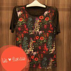 Anna Morena | Fall Winter Lookbook 2014 | Lookbook Outono Inverno 2014 | blusa floral; neoprene; malha; trend.