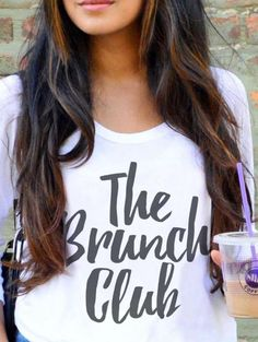 graphic tee - brunch club