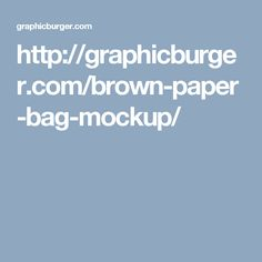 http://graphicburger.com/brown-paper-bag-mockup/