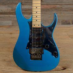 Ibanez RG550 Laser Blue 1991 (s558)