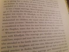 In view of the fact that Khadija gave Mohammad six children, the reports which allots her a younger age seems more accurate. She was 28 years old According Abdullah bin Abbas.  From Muhammad Man and prophet Adil salahi