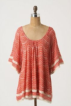 "Another Anthropologie favorite with such an appropriate name, ""Kissimmee Top"""