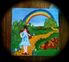 Somewhere Over the Rainbow Made to order design by OurBurrowDesign, $13.00