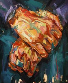 Waiting Hands (2014) Oil on canvas