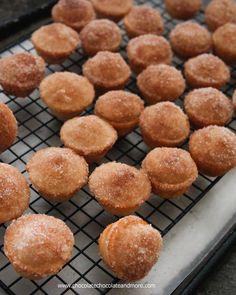Muffins au goût de beignet...cannelle et sucre - Recettes - Recettes simples et géniales! - Ma Fourchette - Délicieuses recettes de cuisine, astuces culinaires et plus encore!