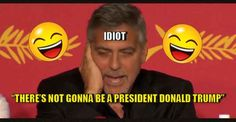 "FLASHBACK VIDEO : Smug George Clooney Claims ""Trump Will Never Be President"" - 11/14/16"