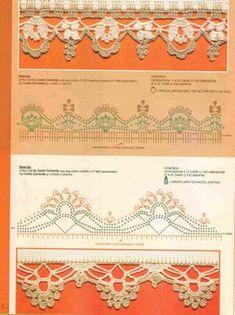 Materiales gráficos Gaby: Puntillas con patrones