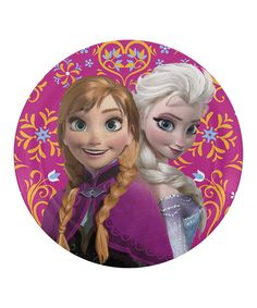 Love this Frozen Sisters Plate on #zulily! #zulilyfinds  This site is going like hot cakes!!!!