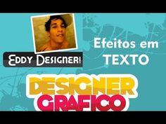 CorelDrawn - Efeitos em Texto 1 - Eddy Designer