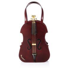 Leather Violin Purse