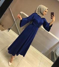 - Jumpsuits and Romper Hijab Style Dress, Hijab Outfit, Dress Outfits, Fashion Outfits, Eid Outfits, Abaya Style, Abaya Fashion, Muslim Fashion, Hijabi Gowns