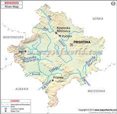 kosovo  rivers ile ilgili görsel sonucu
