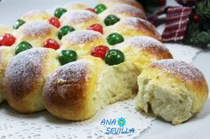 Cream sweet bread Thermomix Ana Sevilla – Cream sweet bread Thermomix Ana Sevil… – Famous Last Words Christmas Bread, Colombian Food, Colombian Recipes, Mexican Dinner Recipes, Sweet Bread, Let Them Eat Cake, Pain, Bread Recipes, Sweet Tooth