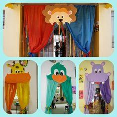 Falando da educação: Ideias de portas decoradas para sala de aula