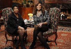 Aretha Franklin with Wendy Williams #ArethaSings