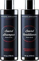 Beard Growth Shampoo and Conditioner Set - Best Organic Face Wash With Biotin & Tea Tree - Best Beard Soap With Beard Oil - Facial Hair Growth Kit For Men - Rapid Hair And Beard Growth - Made In USA Best Beard Wash, Best Beard Shampoo, Beard Shampoo And Conditioner, Best Beard Oil, Beard Growth Kit, Hair Growth, Best Beard Care Products, Beard Softener, Natural Beard Oil