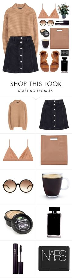 """""""Exams Suck"""" by dana-rachel ❤ liked on Polyvore featuring The Row, Topshop, Base Range, 3.1 Phillip Lim, Tom Ford, Bodum, Narciso Rodriguez, INIKA and NARS Cosmetics"""