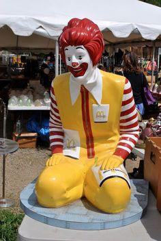Ronald McDonald, truly a bit scary
