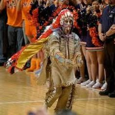 Chief Illini was not a mascot.  He was a revered emblem of the school.