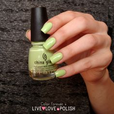 Live Love Polish: China Glaze Be More Pacific