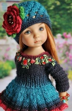Fine Porcelain China Diane Japan Value Refferal: 2471754693 Knitting Paterns, Baby Knitting, Crochet Baby, Diy Embroidery Patterns, Kurti Embroidery Design, Pretty Dolls, Beautiful Dolls, American Girl Crochet, Pretty Little Girls