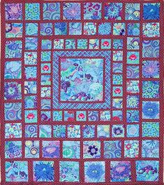 Blue Squares - Kaffe Heritage Quilts