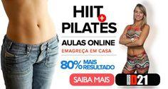 Exercícios para emagrecer em 5 dias com Hiit e Pilates