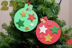 24 Great Ideas for DIY Christmas Crafts for the Kids.