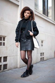 Street Style Photoblog - Alice Conteh, Fashion History Student