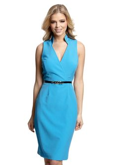 SINGLE Standing Collar Michelle Dress $79.99