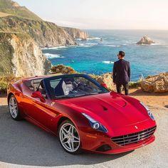 Ferrari California T Motor 3.9 biturbo V8 com 560 cv e 755 Nm de torque. Transmissão automatizada de dupla embreagem de sete marchas. 0 a 100 km/h em 3.6s e máxima de 315 km/h. Já pensou pegar uma estrada com uma machhina dessa? Foto de @hespokestyle featured by @ferrariusa  #Repost #CarroEsporteClube e #MyCalifornia #CaliforniaT #luxurycars #luxury #fastcars #california #fastcars #supercars #auto #brasil #cargramm #carporn #carro #carros #cars #carsofinstagram #driver #horsepower…