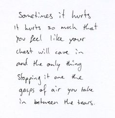 Things are going to hurt sometimes, but they won't break you bc you are one tough cookie.