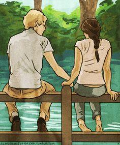 [GIF] Peeta and I grow back together. Cutest. thing. ever.
