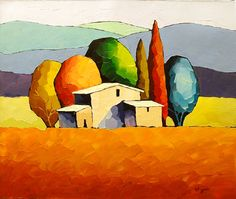 "Sveta Esser Hand Signed and Numbered Limited Edition Giclee on Canvas: ""Sanctuary"""