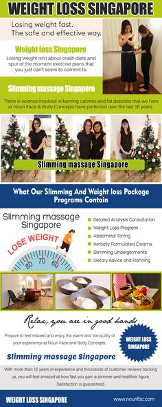 Our Site: https://www.nourifbc.com/slimming-massage-packages-to-lose-weight-fast/ Good Weight loss Singapore is the loss of body mass in an effort to improve once fitness, appearance and health. The key to successful weight loss is a commitment to making permanent changes in your diet and exercise habits. The experience of reaching your goals is priceless and exciting. Enjoy you're your program and remember your goal. Take safe weight loss as a step-by-step activity and follow a proper…