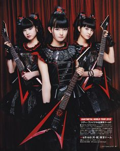 "Young Guitar: BABYMETAL talk ""Metal Resistance"" & importance of Kami Band - Unofficial Babymetal Fan Site"