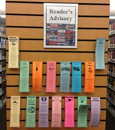Mitchell Library - Reader's Advisory bookmarks, popular authors for various genres #whattoreadnext #readersadvisory #librarydisplays