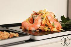 salade mangue carottes crevettes