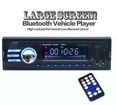 2016 New Car Radio bluetooth MP3 FM/SD/1 Din/remote control/USB port 12V Car Audio bluetooth 1 din auto radio blueooth aux in
