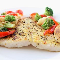 Easy Baked Tilapia - substitute the butter with a little chicken broth to make suitable for Phase 1.