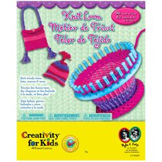 The crafty kid in your house will love this loom! Easy to use and incredibly durable, this loom makes it simple for a beginner to master the art in no time.  Details: - Easy to use - For ages 7 a