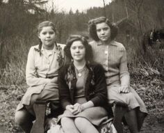 Thelma, Kathleen and Rosemary Scott..mid/late 1940s