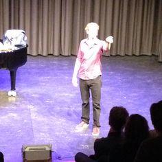 Johan Goossens Muzisch Centrum 2014-10-25 Theaterprogramma Voorhuys