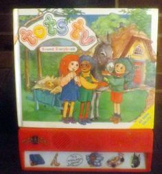 Vintage (1995) TOTS TV Interactive sound storybook for babies and toddlers. Published by Grandreams.