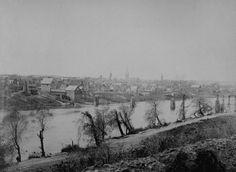 View from Across the Rappahannock River - Fredericksburg, VA, February 1863