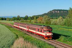 "854.223-5 ČD, R 1151 ""Jizera"", Březina nad Jizerou – Mnich… | Flickr Train, Explore, Photography, Photograph, Fotografie, Photoshoot, Strollers, Fotografia, Exploring"