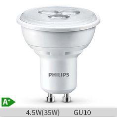 PHILIPS Hue White GU10 LED Doppelpack LED Spot warmweiß