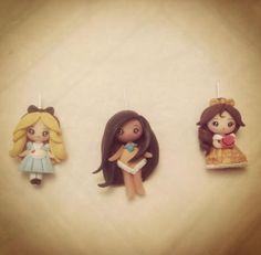 Fimo Miss Yuzu disney princesses